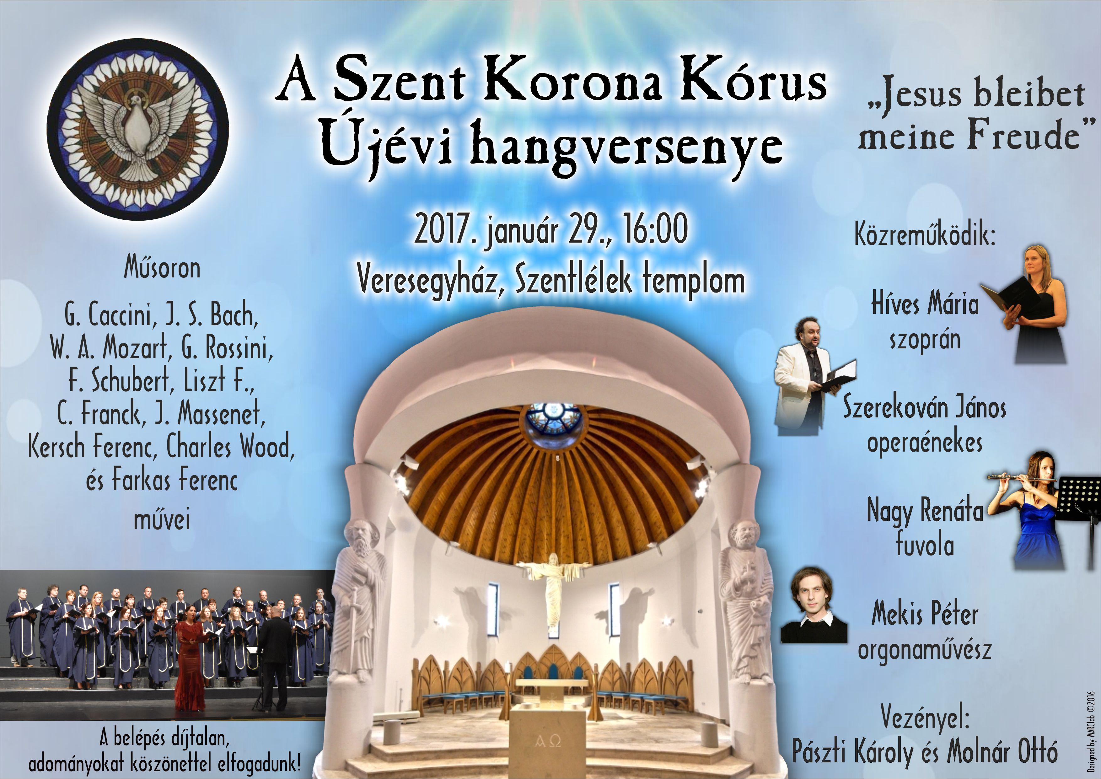 Szent Korona kórus koncert @ Szentlélek-templom