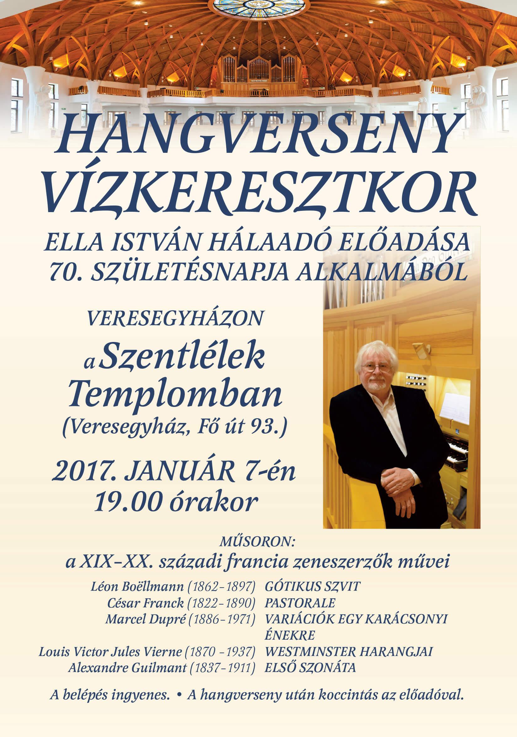 Orgonahangverseny @ Szentlélek-templom