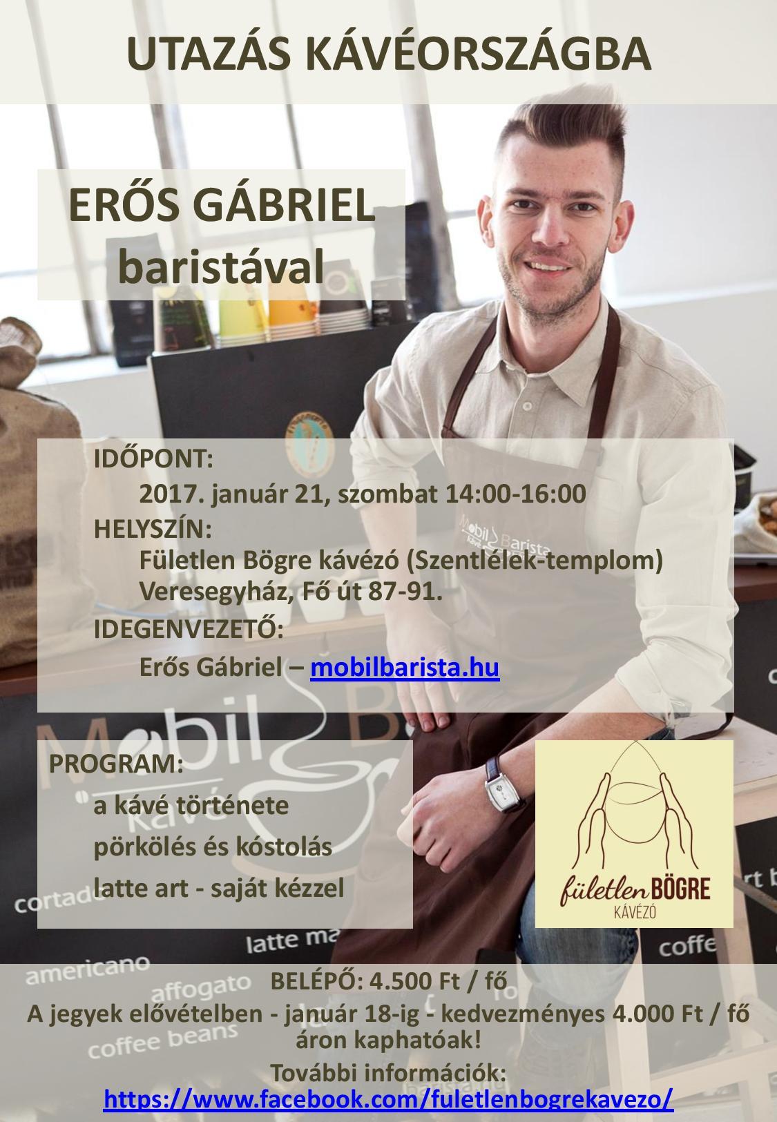 Utazás kávéországba @ Fületlen Bögre kávézó