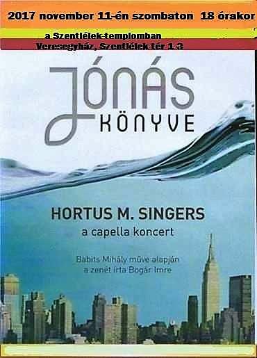 Jónás könyve - koncert