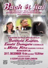 Bach és fiai koncert