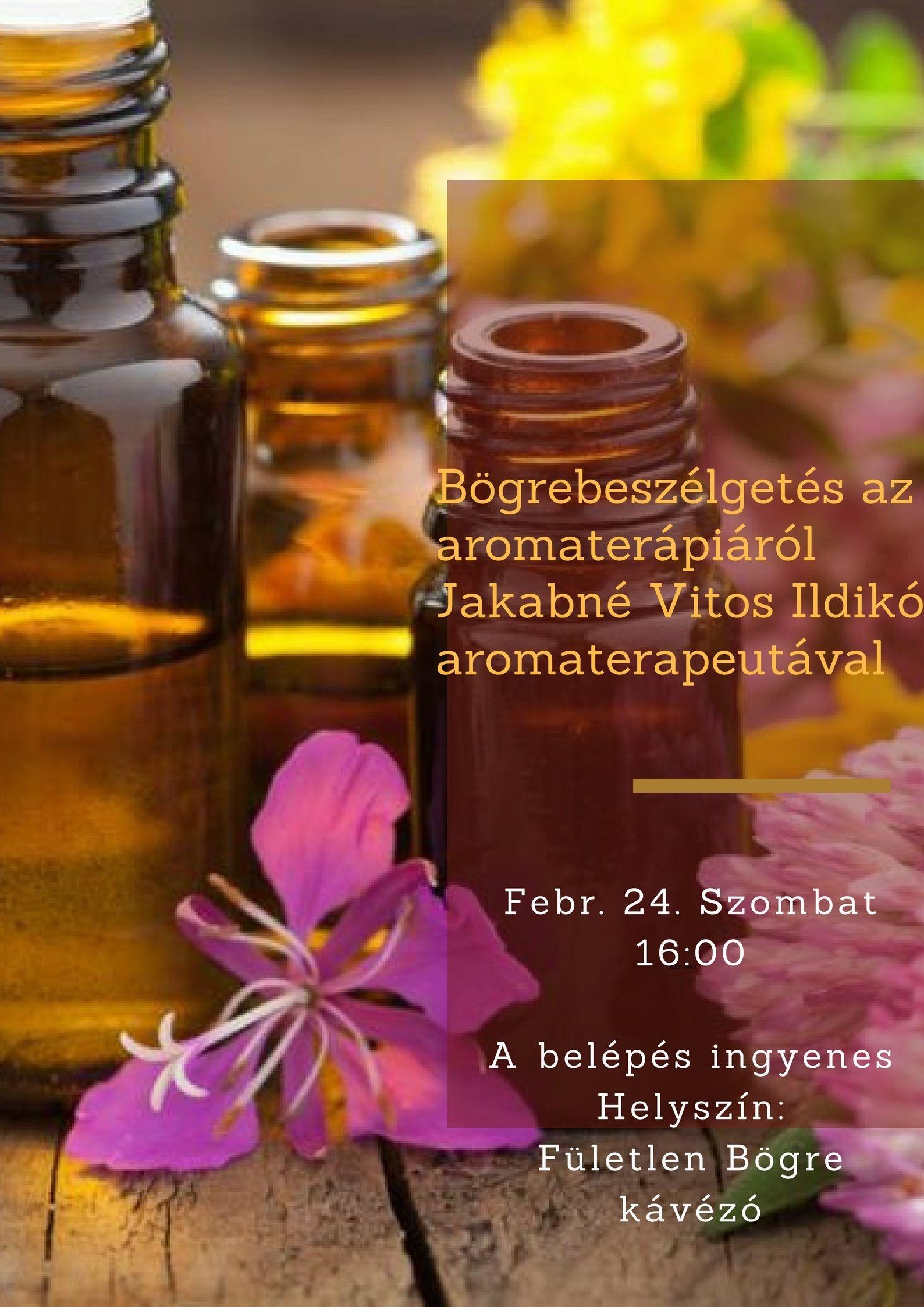 Bögrés beszélgetések - Aromaterápia
